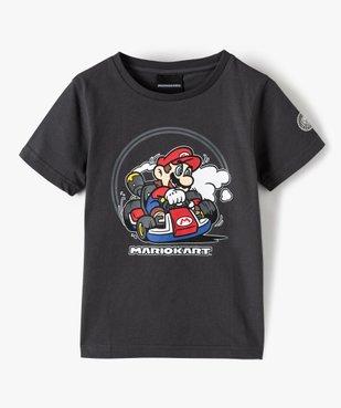 Tee-shirt garçon avec motif XL – MarioKart vue1 - MARIOKART - GEMO