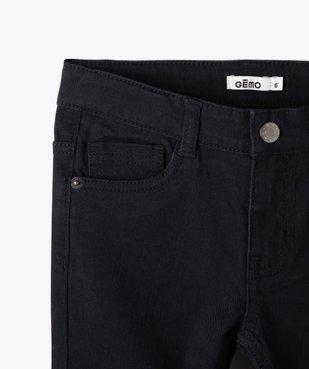 Pantalon garçon uni coupe Slim extensible  vue2 - Nikesneakers (ENFANT) - Nikesneakers