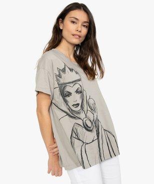 Tee-shirt femme avec motif femme - Disney vue1 - DISNEY DTR - GEMO