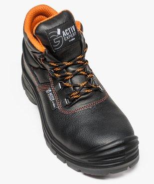 Chaussures de sécurité montantes S3 vue5 - GEMO (SECURITE) - GEMO