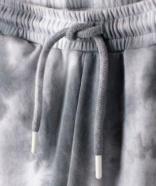Pantalon de jogging fille bicolore effet tie and dye vue2 - GEMO (JUNIOR) - GEMO