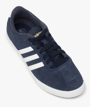 Tennis femme dessus cuir à lacets – Adidas Courtset vue5 - ADIDAS - Nikesneakers