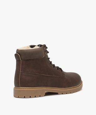 Boots homme à doublure chaude - Les Supaires vue4 - GEMO (CASUAL) - GEMO