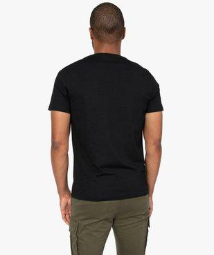Tee-shirt homme à manches courtes et motif squelettes vue3 - GEMO (HOMME) - GEMO