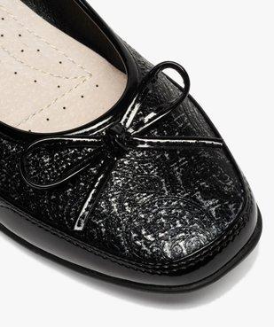 Ballerines femme à détails vernis et semelle intérieure cuir vue6 - Nikesneakers(URBAIN) - Nikesneakers