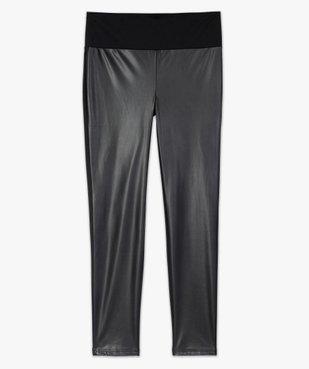 Pantalon femme ajusté bimatière vue4 - Nikesneakers (MATER) - Nikesneakers