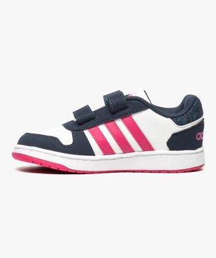 Basket bébé à tige basse tricolore - Adidas vue3 - ADIDAS - GEMO