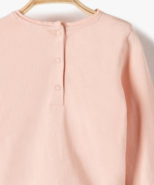 Tee-shirt bébé fille à manches longues avec motif licorne vue3 - Nikesneakers C4G BEBE - Nikesneakers