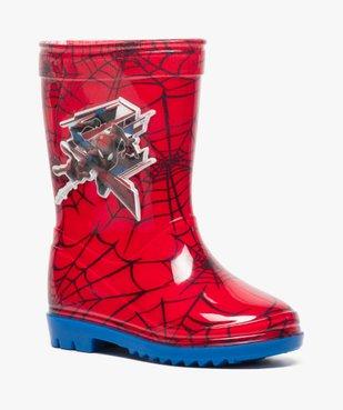Bottes de pluie garçon à imprimé Spiderman vue2 - SPIDERMAN - GEMO