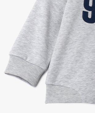 Sweat garçon à capuche en molleton chaud vue3 - GEMO (ENFANT) - GEMO