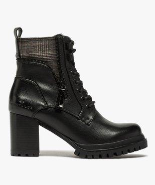 Boots femme à talon carré et semelle crantée – Tom Tailor vue1 - TOM TAILOR - GEMO