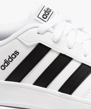 Baskets garçon bicolores à lacets - Adidas Breaknet vue6 - ADIDAS - Nikesneakers