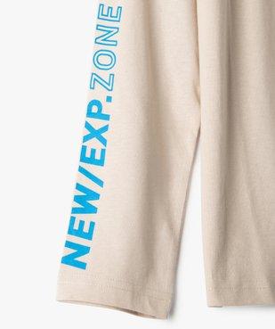 Tee-shirt garçon à manches longues imprimé vue4 - Nikesneakers (JUNIOR) - Nikesneakers