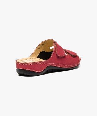 Sandale à brides avec points de réflexologie - 5 zones vue4 - 5 REFLEX ZONES - GEMO