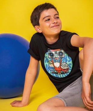 Tee-shirt garçon imprimé - Les Minions 2 vue4 - NBCUNIVERSAL - GEMO