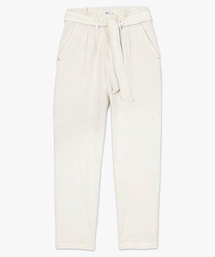 Pantalon femme taille haute - Lulu Castagnette vue4 - GEMO(FEMME PAP) - GEMO