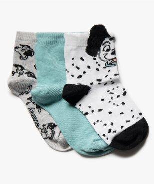 Chaussettes bébé fille avec motifs animaux (lot de 3) - Disney vue1 - DISNEY DTR - Nikesneakers