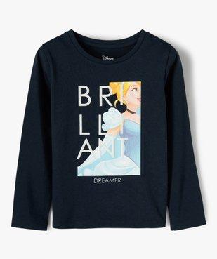 Tee-shirt fille à manches longues avec motif pailleté - Disney vue1 - DISNEY DTR - Nikesneakers