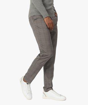 Pantalon homme à motif Prince de Galles vue1 - Nikesneakers (HOMME) - Nikesneakers