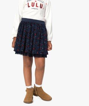 Jupe fille en voile imprimé – Lulu Castagnette vue1 - LULUCASTAGNETTE - GEMO