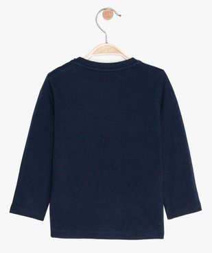 Tee-shirt bébé garçon imprimé fantaisie vue2 - GEMO(BEBE DEBT) - GEMO