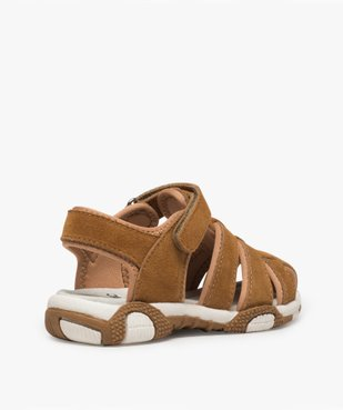 Sandales garçon unies à bout fermé vue4 - Nikesneakers (ENFANT) - Nikesneakers