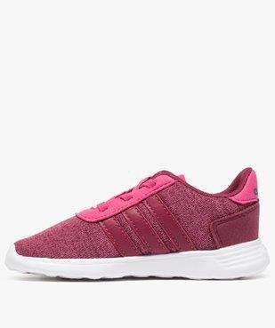 Basket fille multi-matière et lacets élastiques - Adidas vue3 - ADIDAS - GEMO