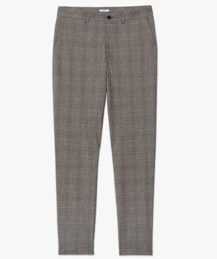 Pantalon homme à motif Prince de Galles vue4 - Nikesneakers (HOMME) - Nikesneakers