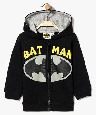 Sweat zippé imprimé Batman vue1 - BATMAN - GEMO