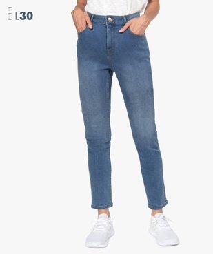 Jean femme coupe Slim taille haute – L30 vue1 - GEMO(FEMME PAP) - GEMO