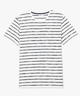 Tee-shirt homme à rayures graphiques vue4 - GEMO (HOMME) - GEMO