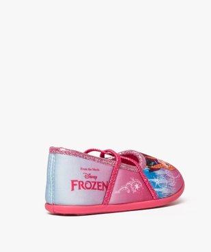 Chaussons fille avec motifs et paillettes La Reine des neiges - Disney vue4 - REINE DES NEIGE - GEMO