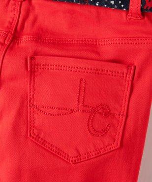 Pantalon fille extensible avec ceinture  – Lulu Castagnette vue4 - LULUCASTAGNETTE - Nikesneakers