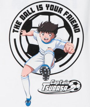 Tee-shirt garçon bicolore – Captain Tsubasa  vue2 - CAPTAIN TSUBASA - GEMO