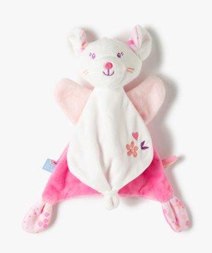 Doudou bébé fille en forme de souris – Sucre d'orge vue1 - SUCRE D'ORGE - GEMO