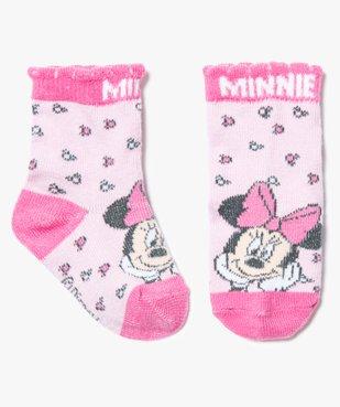 Chaussettes roses Minnie - Disney vue1 - MINNIE - GEMO