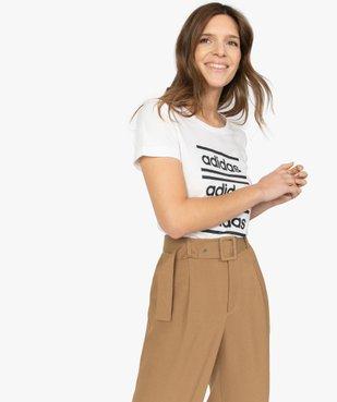 Tee-shirt femme à manches courtes pour le sport - Adidas vue1 - ADIDAS - GEMO