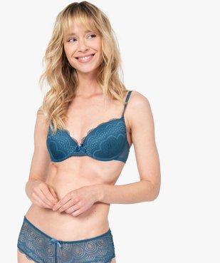 Soutien-gorge femme forme corbeille à armatures vue1 - GEMO(HOMWR FEM) - GEMO