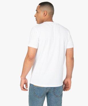 Tee-shirt homme à manches courtes imprimé - Roadsign vue3 - ROADSIGN - GEMO