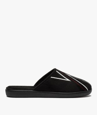Chaussons homme mules à surpiqûres contrastantes vue1 - Nikesneakers(HOMWR HOM) - Nikesneakers
