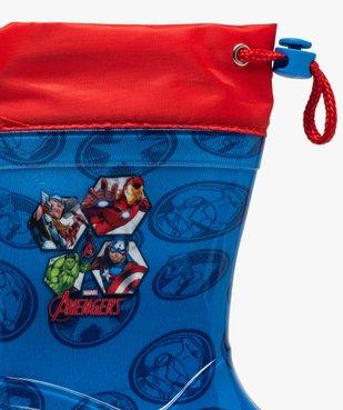 Bottes de pluie garçon à col ajustable – Avengers vue6 - AVENGERS - GEMO