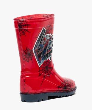 Bottes de pluie crantées Spiderman vue4 - SPIDERMAN - GEMO