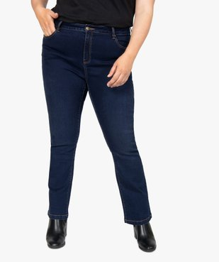 Jean femme coupe bootcut vue1 - GEMO (G TAILLE) - GEMO