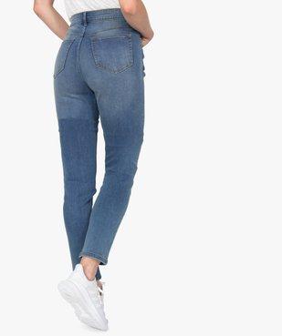 Jean femme coupe Slim taille haute – L30 vue3 - GEMO(FEMME PAP) - GEMO
