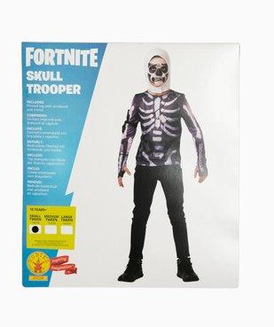 Déguisement enfant Skull Trooper - Fortnite vue4 - FORTNITE - GEMO
