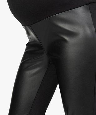 Pantalon femme ajusté bimatière vue2 - Nikesneakers (MATER) - Nikesneakers