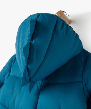 Blouson bébé garçon matelassé avec capuche à crête vue4 - GEMO(BEBE DEBT) - GEMO