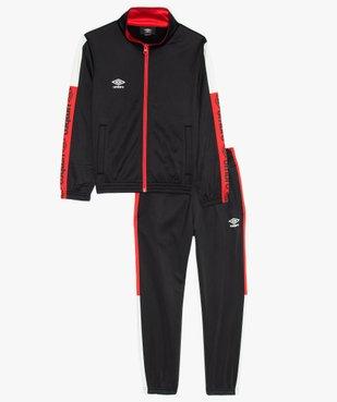 Survêtement garçon 2 pièces : sweat zippé et pantalon de jogging  - Umbro vue1 - UMBRO - GEMO
