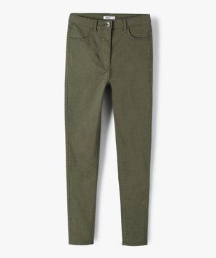 Pantalon fille coupe Ultra Skinny taille haute vue1 - GEMO (JUNIOR) - GEMO
