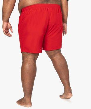 Short de bain homme uni vue3 - Nikesneakers (PLAGE) - Nikesneakers